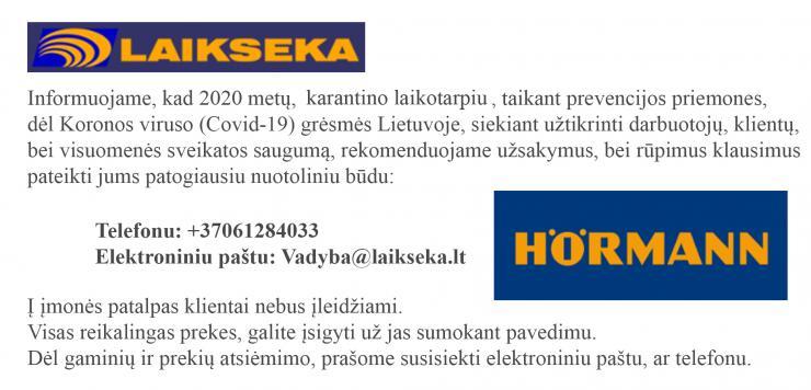 Covid 19 virusas hormann